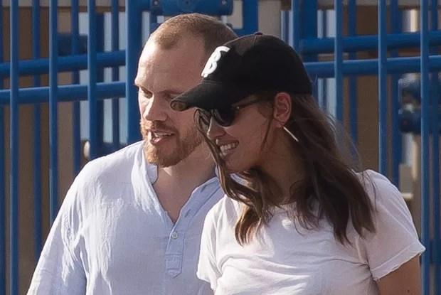 Alec Maxwell and Irina Shayk (Photo: Grosby Group)