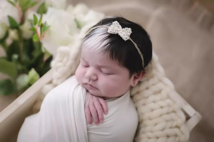 Bebê Mayah é recém-nascida e já faz sucesso na internet — Foto: Paula Beltrão/Divulgação