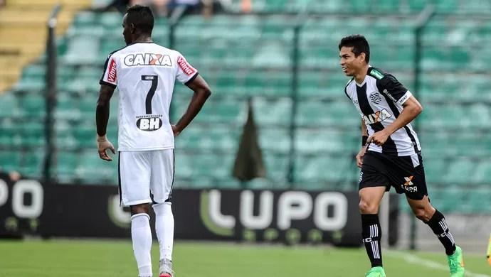 Figueirense x Atlético-MG Primeira Liga (Foto: EDUARDO VALENTE - Agência Estado)