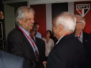 Modesto Roma Santos Carlos Augusto de Barros e Silva Leco São Paulo (Foto: Rubens Chiri/saopaulofc.net)