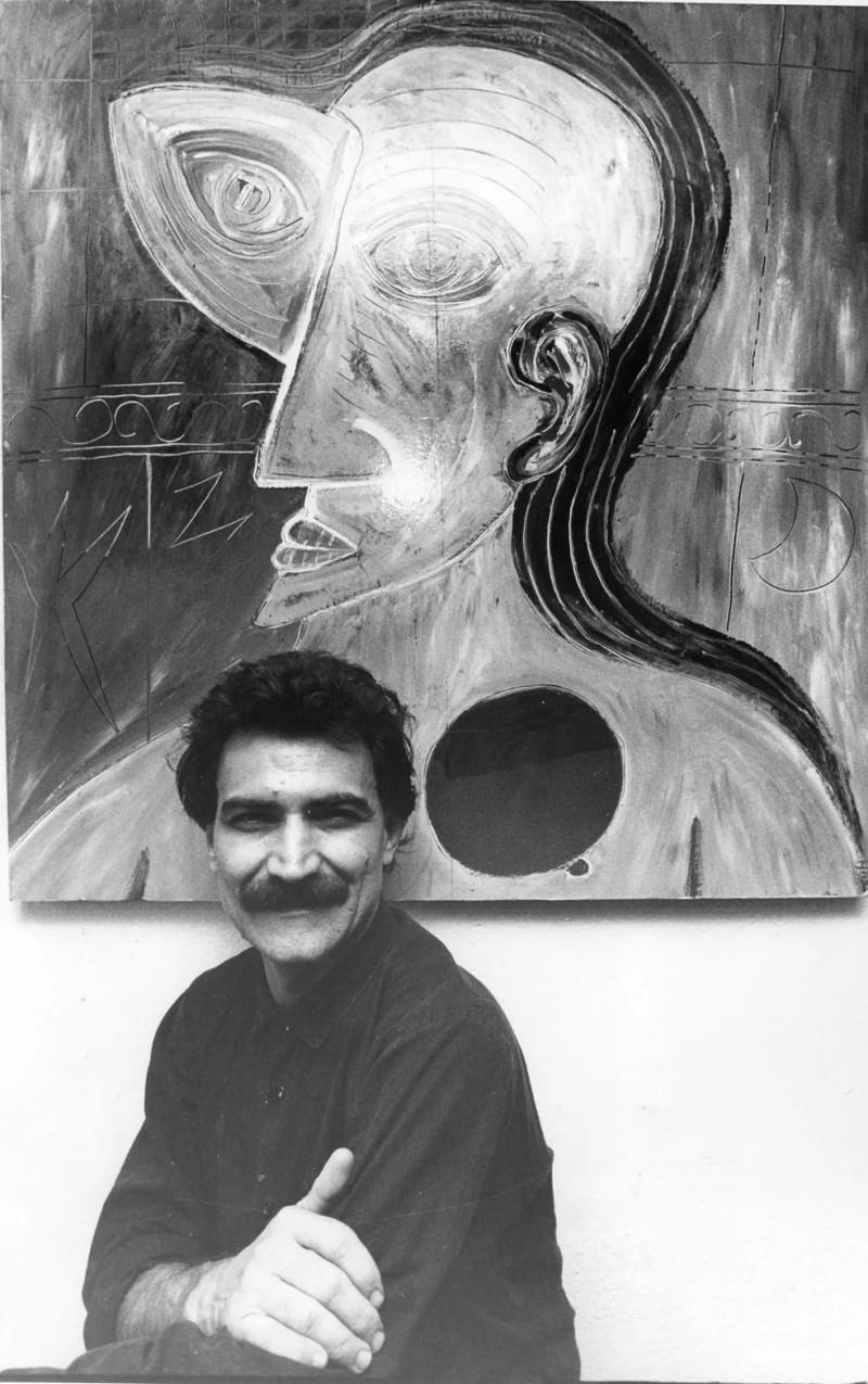 Cantor e compositor Belchior em retrato de 1987 (Foto: Silvio Ricardo Ribeiro/Estadão Conteúdo)