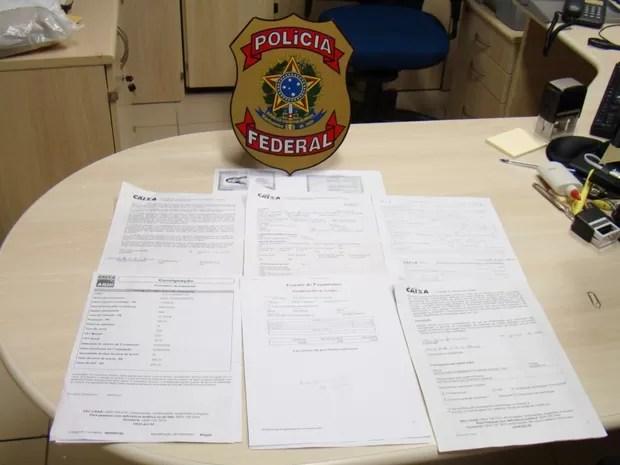Cédula de identidade expedida recentemente e o tipo de benefício requerido (pensão por morte) levantaram a suspeita de que a transação poderia se tratar de uma fraude (Foto: Divulgação/PF)