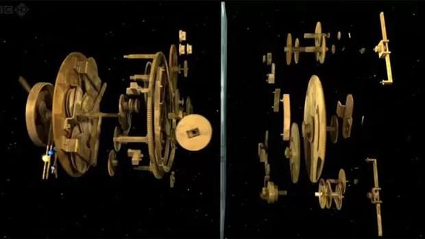 Todas as peças para introduzir os conhecimentos em uma só máquina. (Foto: BBC)