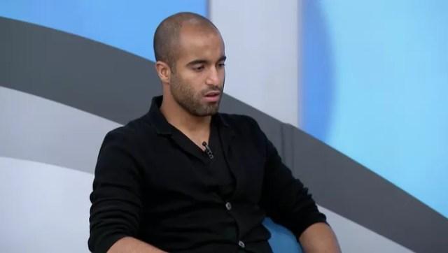 Lucas Moura, jogador do Paris Saint-Germain (Foto: Reprodução SporTV)