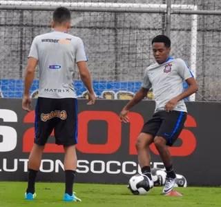 Elias, Corinthians (Foto: Diego Ribeiro)