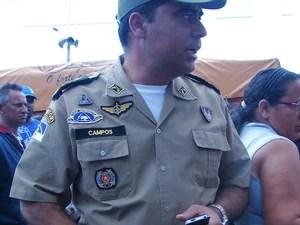 Segundo coronel, aeronave será solicitada à SDS (Foto: Jaqueline Almeida/G1 Caruaru)