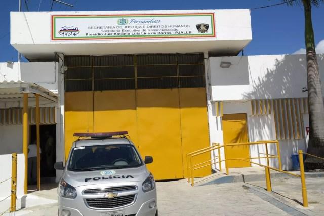 Presídio Juiz Antonio Luis Lins de Barros fica no Complexo do Curado, na Zona Oeste do Recife — Foto: Seres/Divulgação