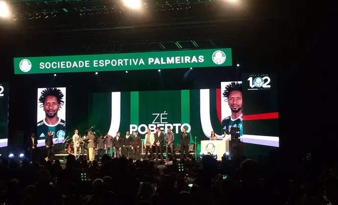 Palmeiras Festa 102 anos (Foto: Tossiro Neto)