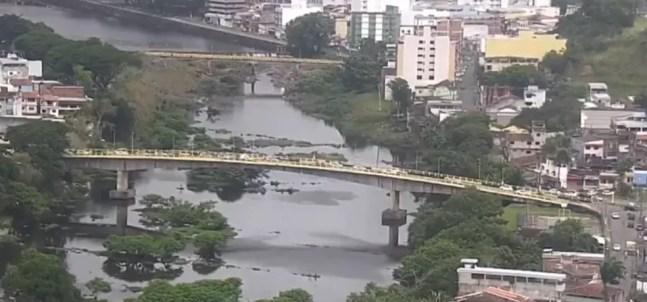 Imagem aérea de Itabuna — Foto: Reprodução/TV Santa Cruz