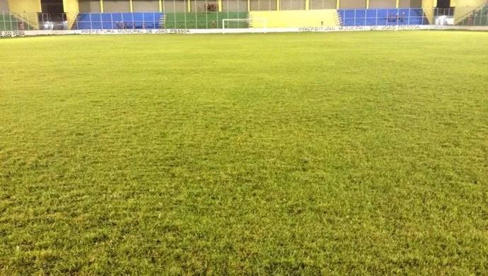 estádio da graça, marcação, campeonato paraibano (Foto: Hévilla Wanderley / GloboEsporte.com/pb)