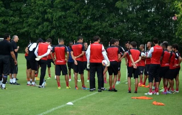 treino São Paulo treino Muricy (Foto: site oficial / saopaulofc.net)