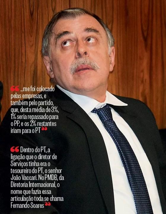 DETALHES DO ESQUEMA O ex-diretor da Petrobras Paulo Roberto Costa. Ele confirmou o organograma da corrupção (Foto: Joel Rodrigues/Folhapress)