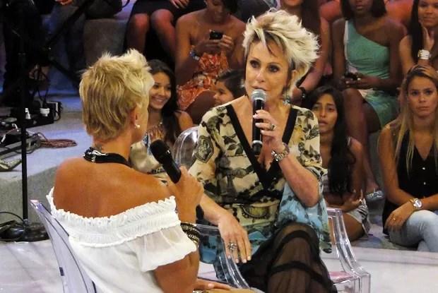 Ana Maria Braga é a homenageada do Papo X (Foto: TV Xuxa / TV Globo)