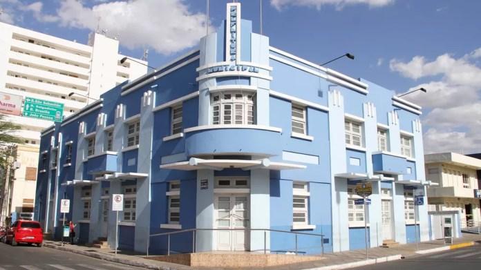 Prefeitura de Patos, na Paraíba (Foto: Leonardo Silva/Jornal da Paraíba)