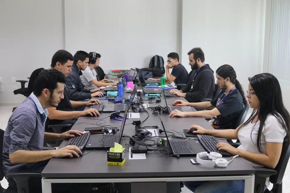 Fábrica de software da Conductor Tecnologia foi instalada no Centro Universitário Unifacisa, em Campina Grande — Foto: Unifacisa/Divulgação