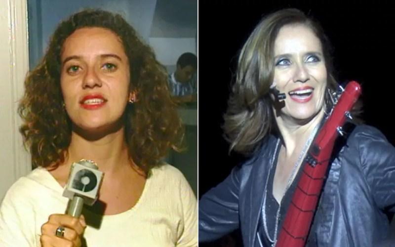 A repórter Edlaine Garcia atuou por anos no jornalismo da EPTV e depois passou a compor a equipe do Mais Caminhos. — Foto: Arte/G1