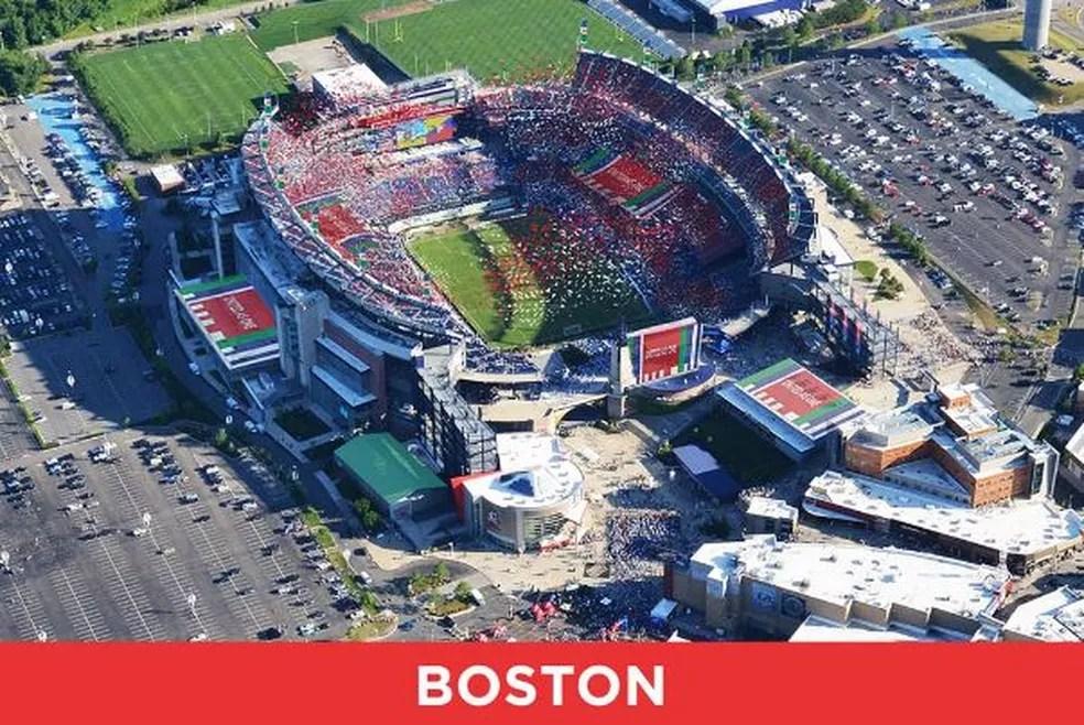 Estádio de Boston pode receber jogos da Copa do Mundo de 2026 (Foto: Divulgação)