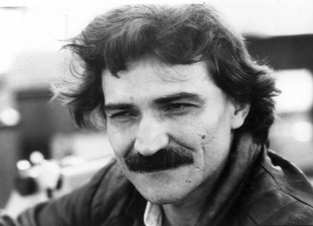 Belchior durante entrevista em São Paulo em 1986 (Foto: Antonio Lúcio/Agência Estado)