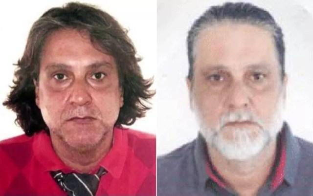 Fotos mostram Paulo Cupertino, acusado de assassinar ator em SP e foragido há mais de 1 ano — Foto: Reprodução