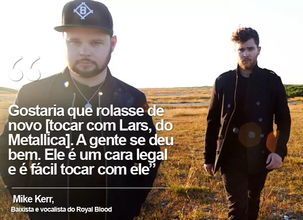Royal Blood toca no dia do Metallica no Rock in Rio (Foto: Divulgação/Warner)