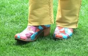 Sapato Carlos Santana (Foto: Cintia Barlem )