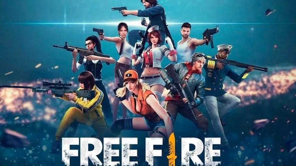 Free Fire se destaca pela grande variedade de personagens dentro do game — Foto: Divulgação/Garena