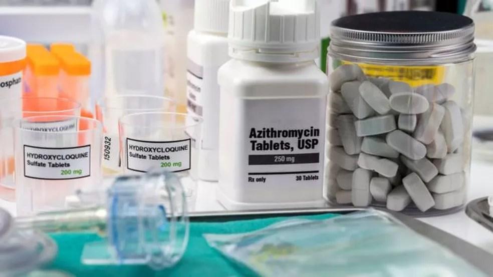 MP-AC investiga compra de mais de R$ 700 em remédios sem eficácia contra Covid-19 — Foto: Getty Images via BBC