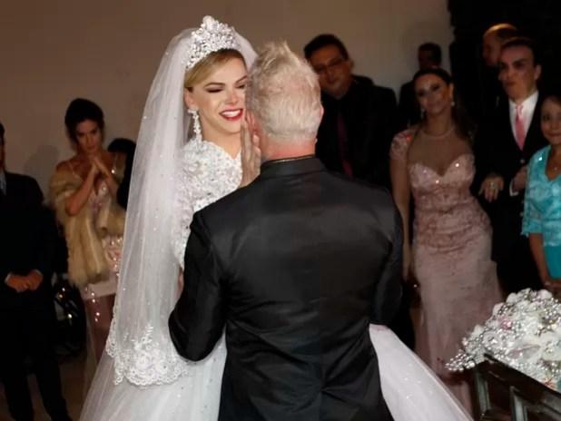 Casamento de Léo Áquilla e Chico Campadello em São Paulo (Foto: Celso Tavares/ EGO)