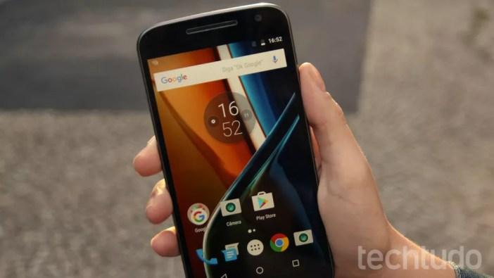 Moto G4 tem função dual chip (Foto: Ana Marques/TechTudo)
