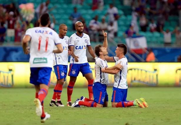 Bahia x Tupi-MG; arena fonte nova; renato cajá (Foto: Felipe Oliveira/EC Bahia/Divulgação)