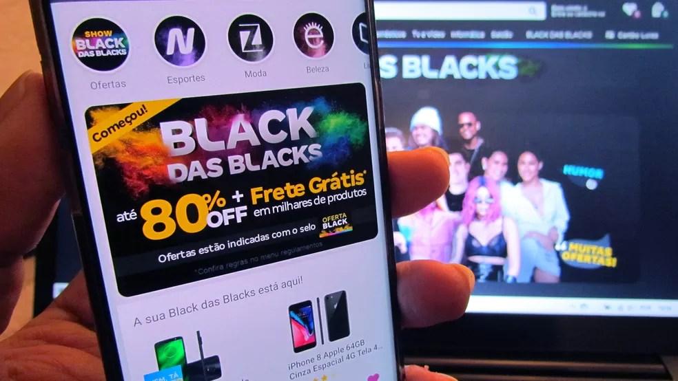 Eletrônicos costumam ser os mais procurados durante a Black Friday — Foto: Paulo Alves/TechTudo