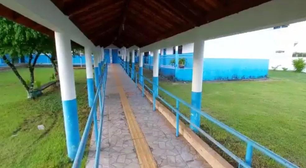 Escola Marcos Adriano Isller — Foto: Prefeitura de Nova União/Reprodução