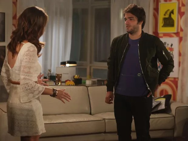 Davi procura Manu depois que descobre toda a verdade (Foto: Pedro Curi/ TV Globo)