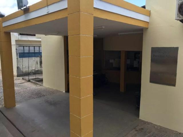 Hospital Municipal Dr. Percílio Alves, em Ceará-Mirim, na região metropolitana de Natal — Foto: Kleber Teixeira/Inter TV Cabugi