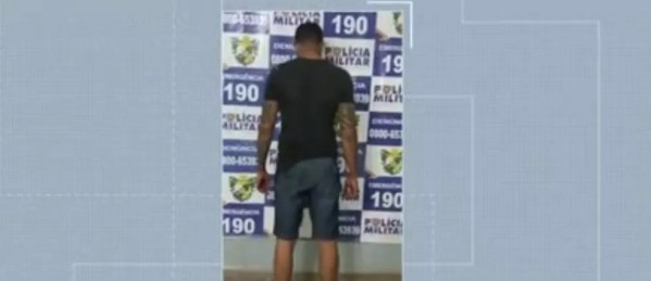 Homem de 30 anos foi preso em flagrante. — Foto: TVCA