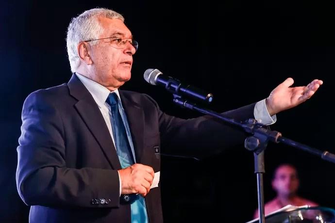 Presidente da Confederação Brasileira de Handebol (CBHb), Manoel Luiz de Oliveira (Foto: Wander Roberto/Photo&Grafia)