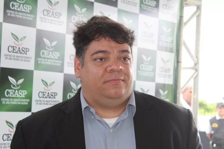 Gustavo Scarambone é um dos sócios-empreendedores do Ceasp, Centro de Distribuição de São Pedro da Aldeia — Foto: Luiz Thiago de Jezus/Ceasp