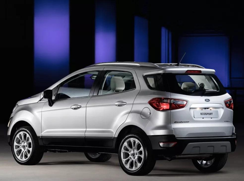 Ford EcoSport Titanium — Foto: Divulgação/Ford