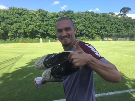 Maicon 72 jogos e cinco gols pelo São Paulo (Foto: Marcelo Hazan)