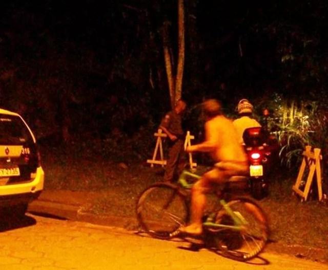 Corpo foi encontrado por turistas em condomínio de luxo (Foto: Reprodução/Aconteceu em Bertioga)