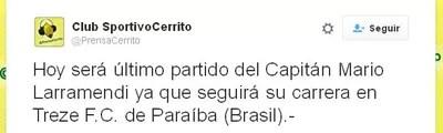 Uruguaio fecha acordo com o Treze para disputar o Paraibano 2016