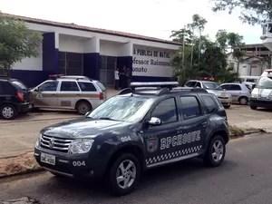 Presos se rebelaram no Presídio Provisório Raimundo Nonato nesta sexta (Foto: Edmilson Santos/Inter TV Cabugi)