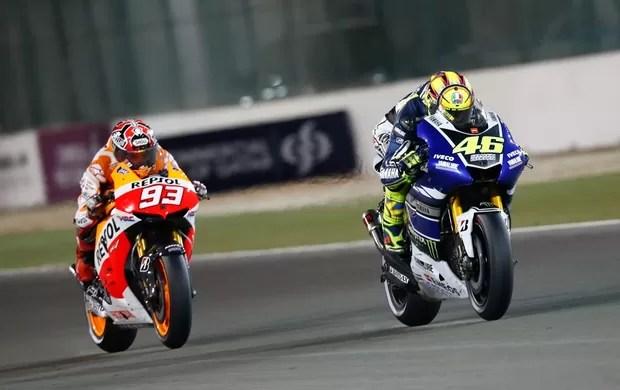 motogpcatar46rossi93marquez - Rivais se rendem a talento de Rossi em retorno à Yamaha: 'Fantástico'