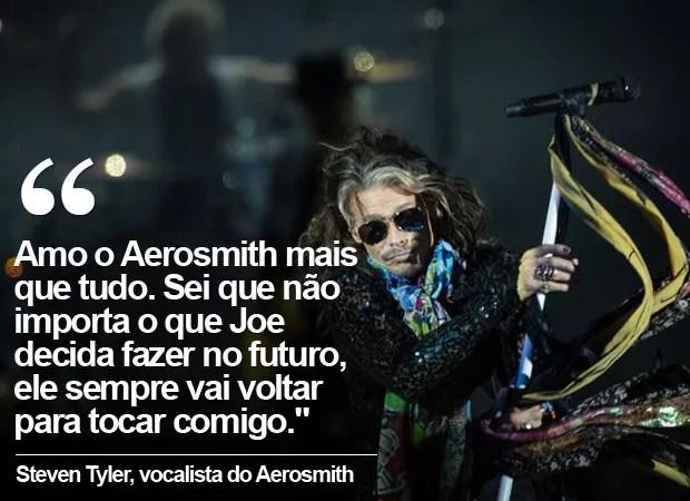 Aerosmith (Foto: Flavio Moraes / G1)