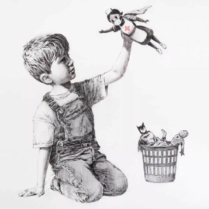 Game Changer, de Banksy