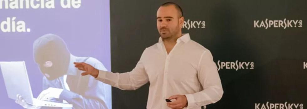 O analista argentino Santiago Portiroli, em evento da empresa em Moscow, na Rússia (Foto: Divulgação)