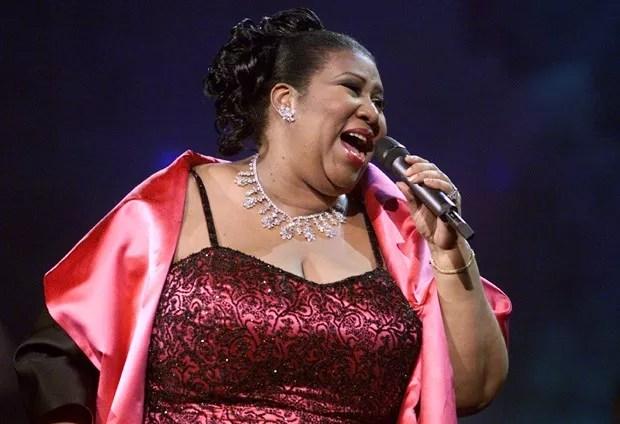 A cantora Aretha Franklin, de 76 anos, tinha câncer no pâncreas (Foto: Getty Images)
