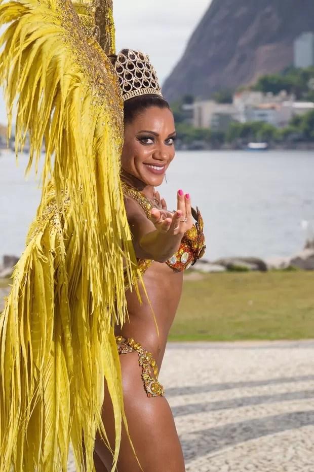 Ana Paula Evangelista (Foto: Divulgação)