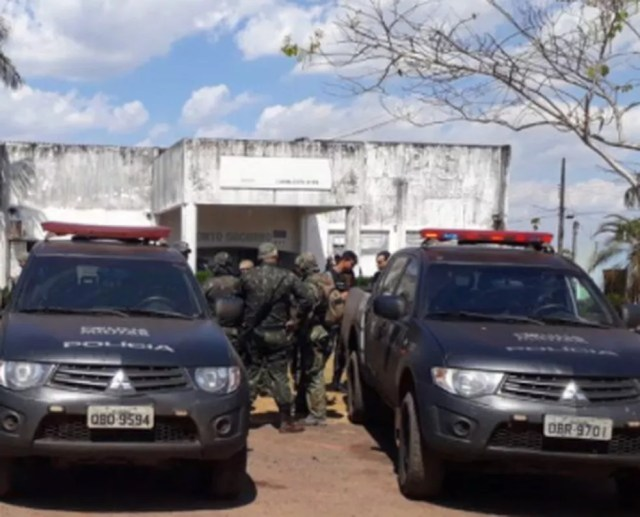 Confronto ocorreu em área de mata em Juara, segundo a PM (Foto: PM/Divulgação)