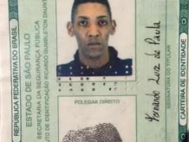 O pintor Fernando Luiz de Paula, de 34 anos, morreu no bar no Jardim Munhoz Júnior (Foto: Reprodução)